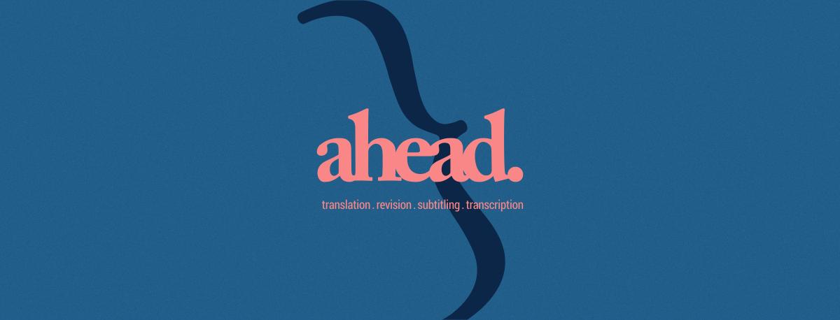 Ahead Tradução, legendagem e Acessibilidade para Audiovisual