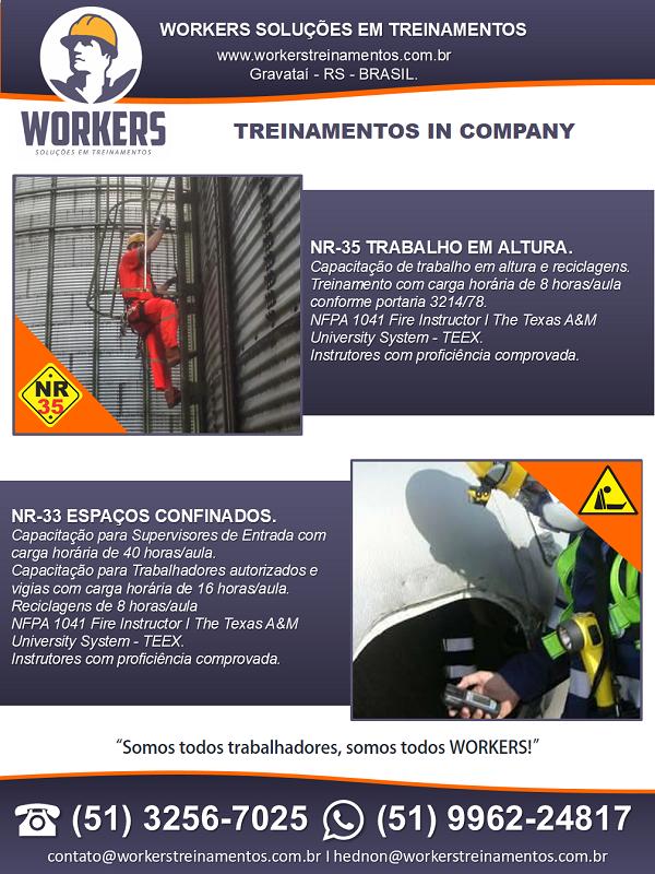 WORKERS SOLUÇÕES EM TREINAMENTOS