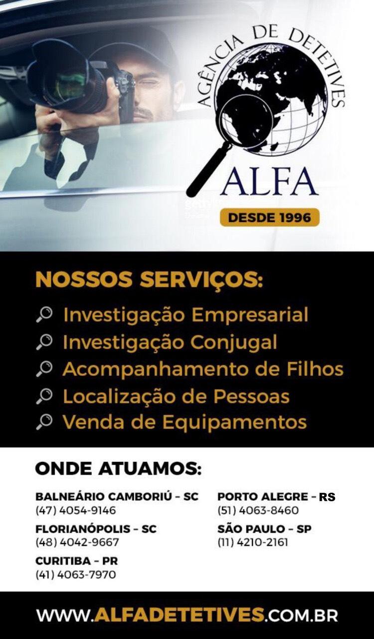 Detetive Alfa Seriedade em Florianópolis – SC